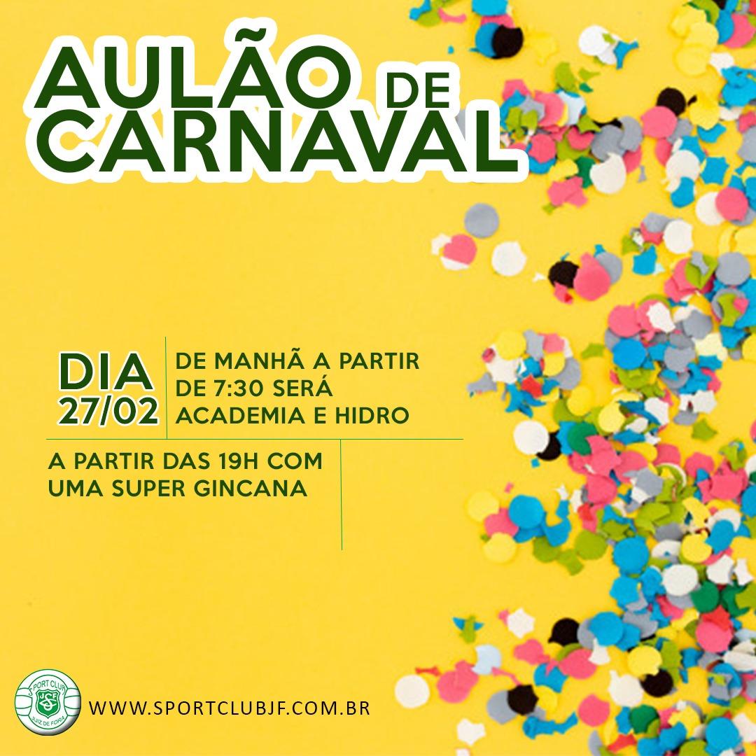 Aulão de Carnaval