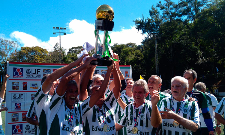 Sport Club leva a taça da Copa 60+ de Fut7