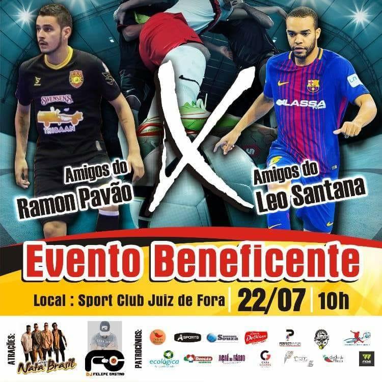 Sport é palco do evento beneficente Leo Santana x Ramon Pavão