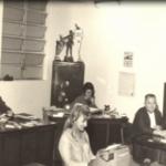Antiga secretaria do clube na década de 1950
