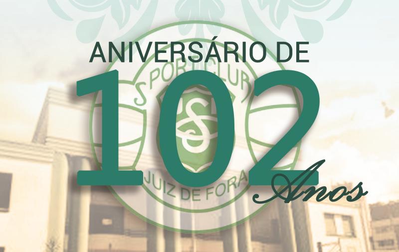 Read more about the article Sport comemora 102 anos com jantar dançante. O Evento acontece no sábado, 29, às 20hs.